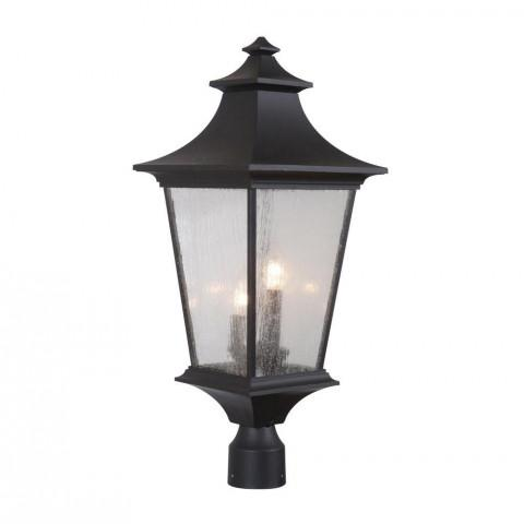 Craftmade Exteriors Outdoor Argent Ii Large Post Mount In Midnight