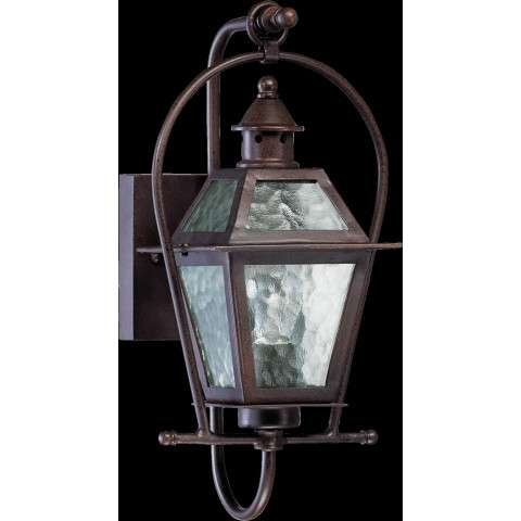 Bourbon Sreet 1 Light Lantern in Oiled Bronze