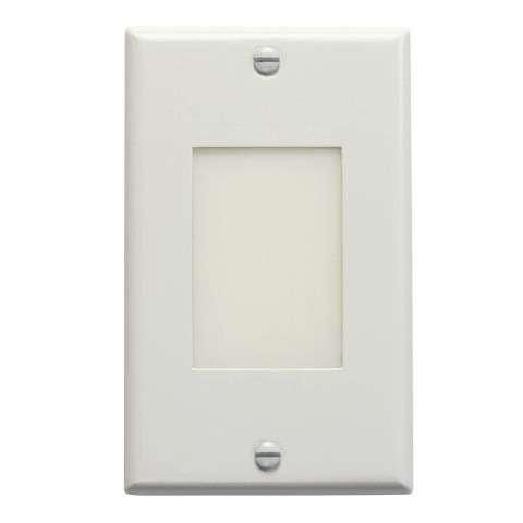 Kichler 12604WH LED Step Light Lens in White.