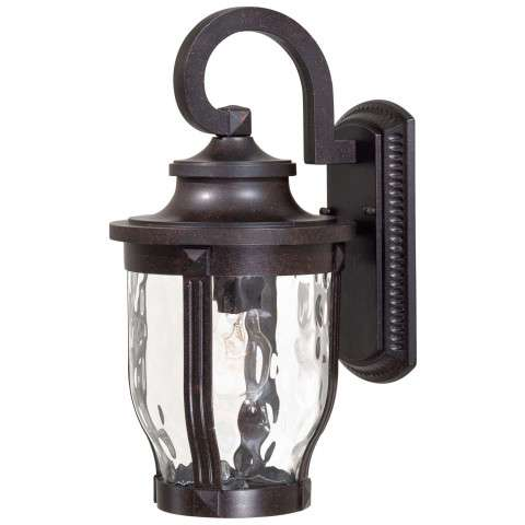 Minka Lavery Lighting 8762-166 1 Light Wall Mount in Corona Bronze finish