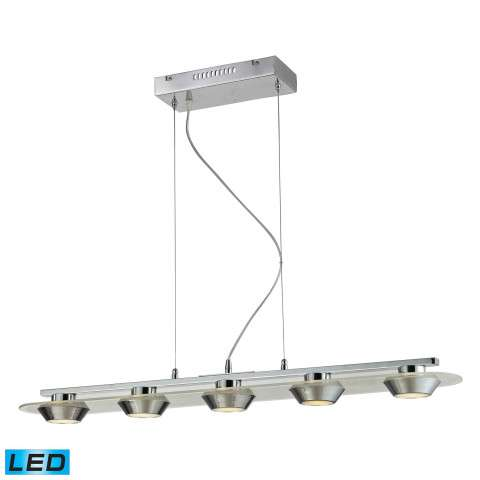 Nulco Lighting 81064/5 Led 5 Light 4W Glass Pendant