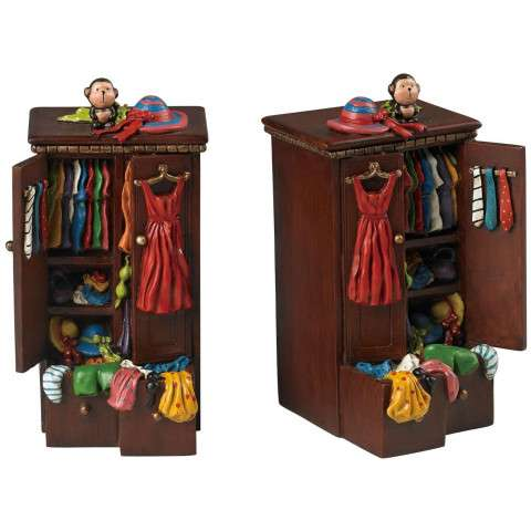 Bookend - Set Of 2 Bookends - Composite
