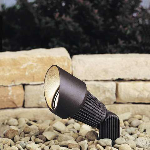Kichler 15309AZT Accent 1-Lt 12V in Textured Architectural Bronze.