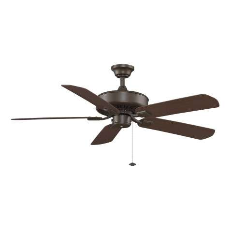 "Fanimation 52"" EdgeWood Wet Location in OiL-Rubbed Bronze"