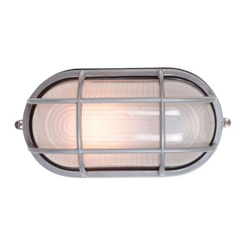 Access Lighting 20292-SAT/FST Nauticus Wet Location Bulkhead in Satin finish with Frosted glass