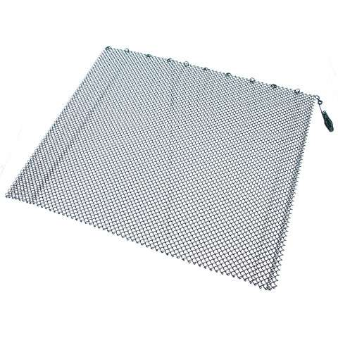 "Single Panel Black Replacement Mesh - 48"" Wide x 18"" Tall"