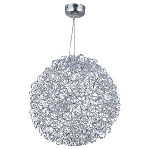 Dazed LED 12-Light Pendant in Polished Chrome