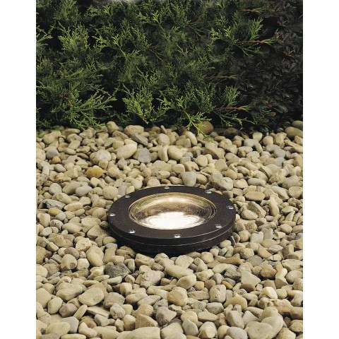 Kichler 15194AZ In-Ground 1-Lt 12V in Architectural Bronze.