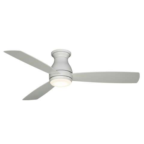 Fanimation Hugh 52 Ceiling Fan Model FPS8355BMWW in Matte White Wet Rated