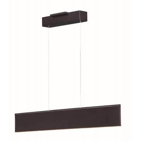 Blade LED Pendant in Bronze