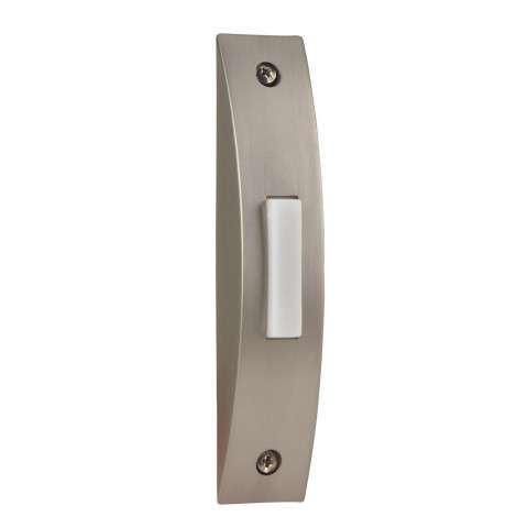 Craftmade Teiber Pushbuttons - Designer Surface Mount - Contemporary Brushed Nickel - Lighted