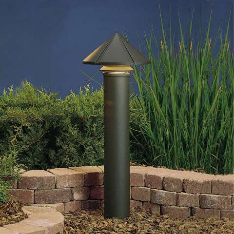 Kichler 15211AZT Path & Spread 1-Lt 120V in Textured Architectural Bronze.