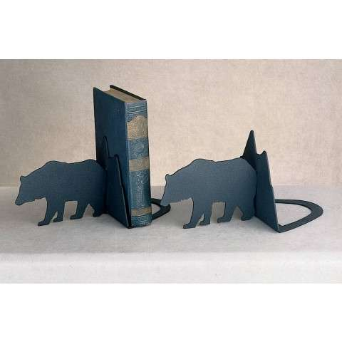 Meyda Tiffany 23404 Lone Bear Bookends in Black finish
