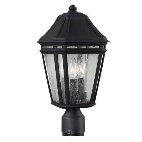 Londontowne 3 - Light Outdoor Post in Black