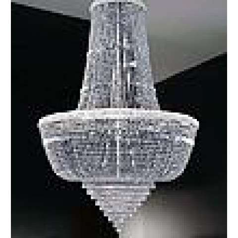 "49""W Osaka Empire 20 LT Chandelier"