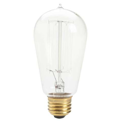Kichler 4071CLR Antique Light Bulb Incandescen in Clear.