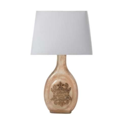 Mary-Kate and Ashley Rosavita LED Table Lamp in White and Pink