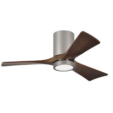 "Matthews 42"" Atlas Irene-HLK LED 3 Blade in Brushed Nickel"