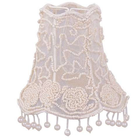 Crystorama 2SH Pearl Beaded Mini Shade