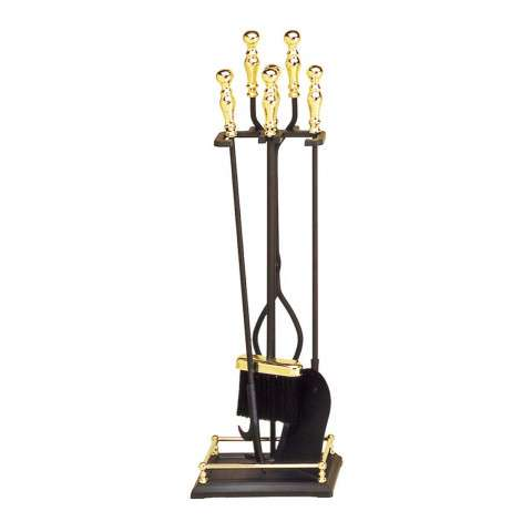 4 - Tool Fireset - Brass Plated and Black