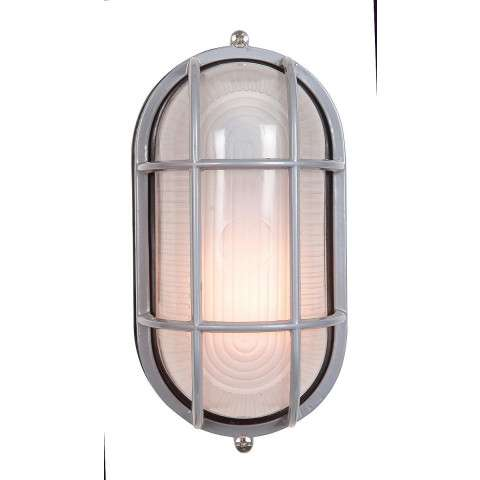 Access Lighting 20290-SAT/FST Nauticus Wet Location Bulkhead in Satin finish with Frosted glass