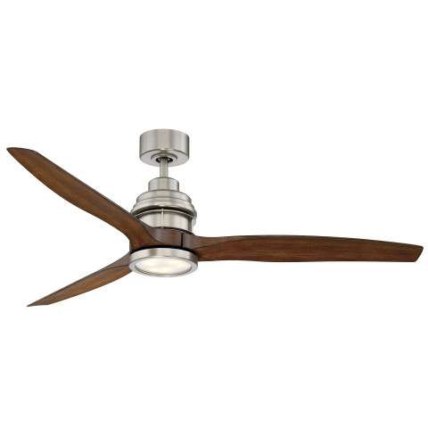 "Savoy House 60-5025-3KO-SN La Salle 60"" Ceiling Fan in Satin Nickel"
