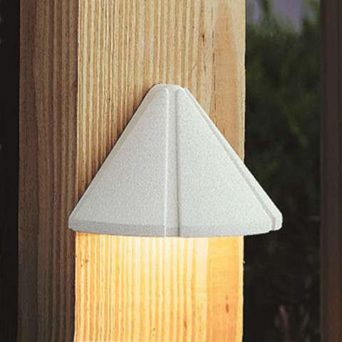 Utilitarian Landscape - Led Deck Light in White