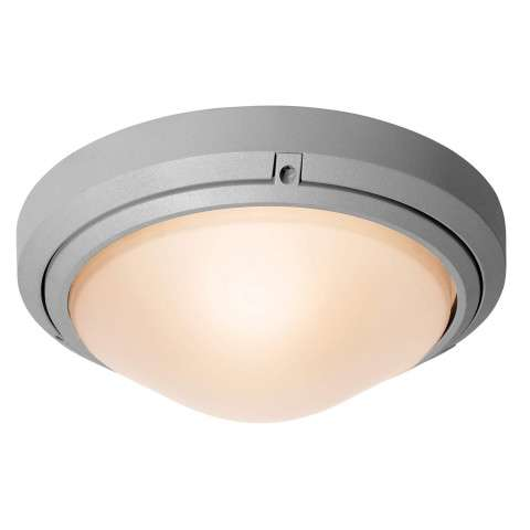 Access Lighting 20355MG-SAT/FST Oceanus Wet Location Ceiling or Wall Fixture in Satin finish with Frosted glass