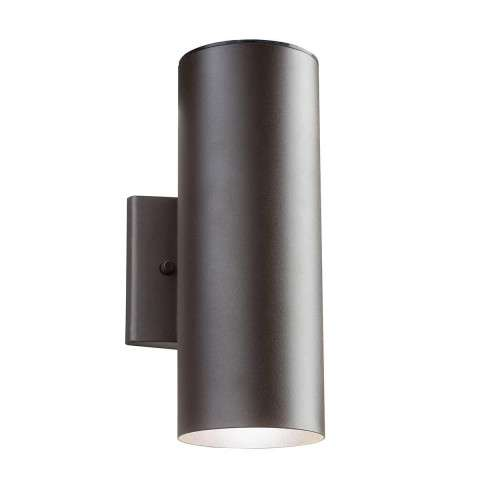 Outdoor Wall 1Lt LED in Textured Architectural Bronze
