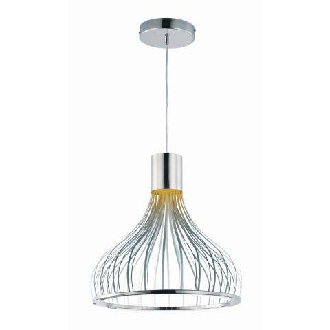 Turbo LED-Single Pendant in Polished Chrome