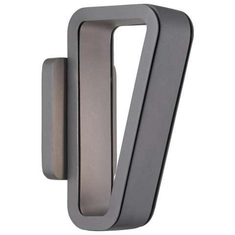 Pediment - AC LED Wall Sconce in Soldered Silver