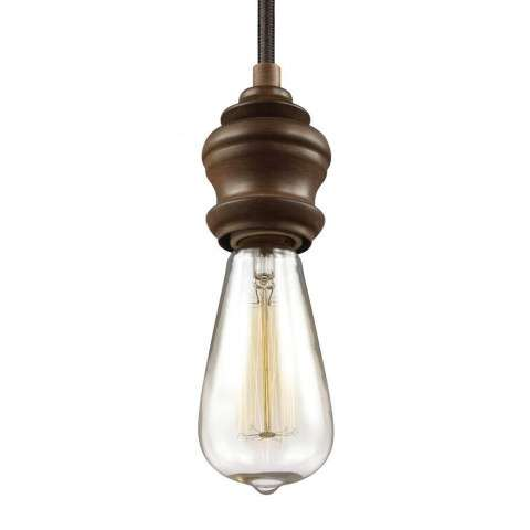 Corddello 1 - Light Mini - Pendant in Weathered Oak