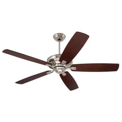 Emerson Carrera Grande Eco 60 (DC Motor) Ceiling Fan Model CF788BS in Brushed Steel