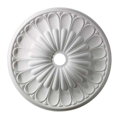 Elk Lighting M1009WH Melon Reed Medallion 32 Inch In White Finish