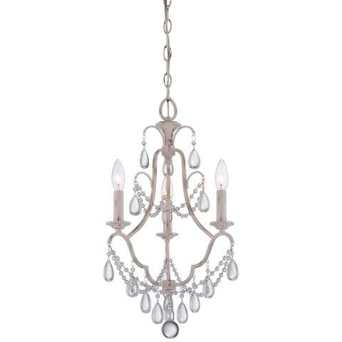 Other Chandelier Fixtures 3Lt Ch In Provencal Blanc