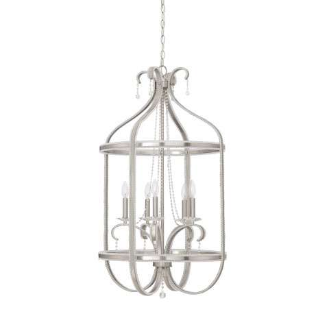 Andrianna 5 Light Foyer in Brushed Polished Nickel