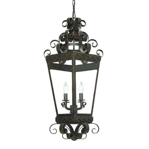 "16"" W Cadenza Lantern. Custom Crafted In Yorkville - New York Please Allow 30 Days"