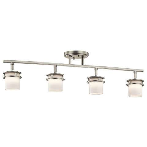 Hendrik Rail 4Lt in Brushed Nickel