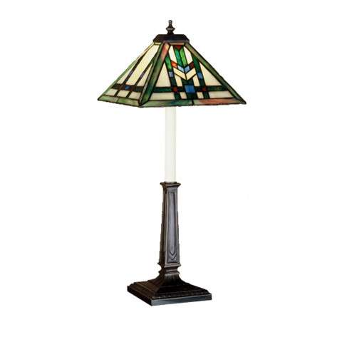 Meyda Tiffany 47836 Prairie Wheat Buffet Lamp in Mahogany Bronze finish