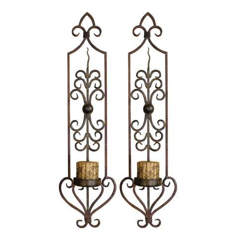 Uttermost 20987 Privas - Wall Sconces - Set of 2
