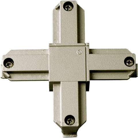 Progress P8723-09 Cross connector in Brushed Nickel finish.