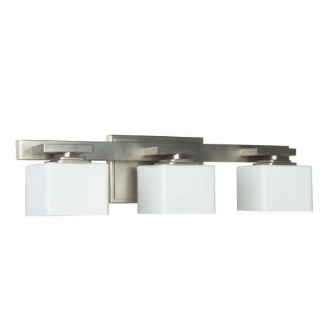 Encanto 3 Light Vanity in Brushed Polished Nickel