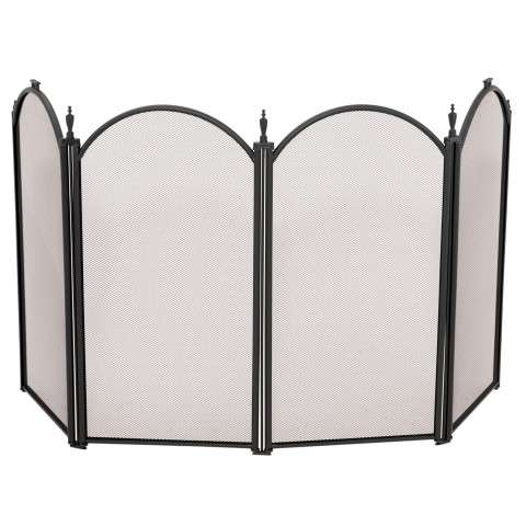 "4 Fold Mini Black Screen - 52"" Wide x 24.5"" Tall"