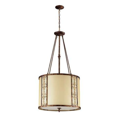 Elk Lighting 11343/8 8- Light Pendant In Spanish Bronze