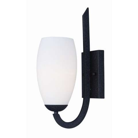 Taylor 1-Light Wall Sconce in Textured Black