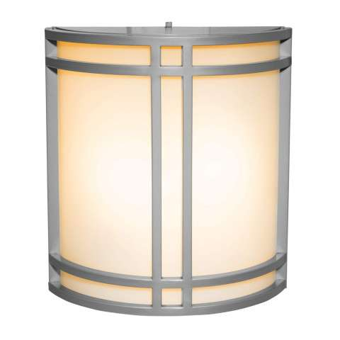 Access Lighting 20362-SAT/OPL Artemis Wet Location Wall Fixture in Satin finish with Opal glass
