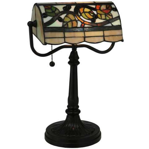 Meyda Tiffany 130760 Vineyard Bankers Lamp