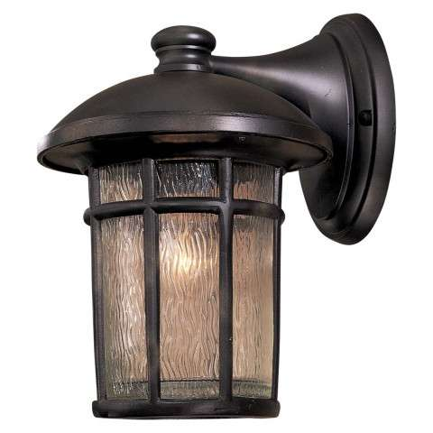 Minka Lavery Lighting 8252-94 1 Light Wall Mount in Heritage finish