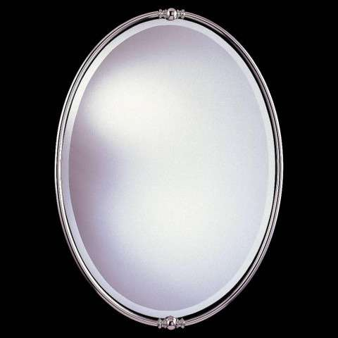Murray Feiss MR1044PN New London Mirror in Polished Nickel finish