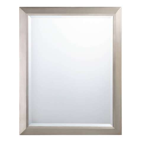 Kichler 41011NI Mirror in Brushed Nickel.